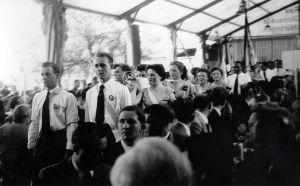 1954 - Fahnenweihe